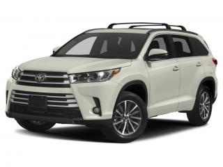 New 2019 Toyota Highlander XLE for sale in Moncton, NB