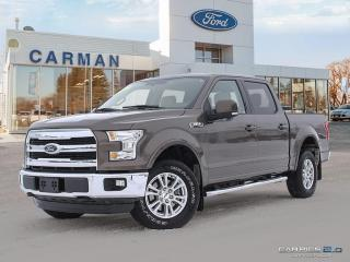 Used 2016 Ford F-150 Lariat Heated Leather Seats for sale in Carman, MB