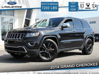 Used 2014 Jeep Grand Cherokee Ltd Cuir Toit Nav for sale in Victoriaville, QC