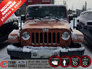 Used 2010 Jeep Wrangler Jeep Wrangler Unlimited Sahara 2010, Rég for sale in Gatineau, QC