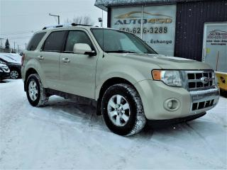 Used 2011 Ford Escape ***LIMITED,CUIR,TOIT OUVRANT*** for sale in Longueuil, QC