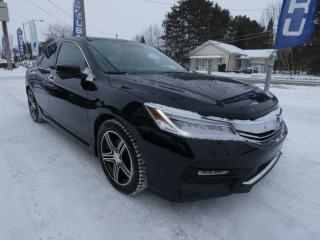 Used 2016 Honda Accord 4 portes V6 automatique Touring for sale in Victoriaville, QC