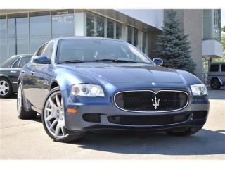 Used 2007 Maserati Quattroporte EXECUTIVE GT for sale in Oakville, ON