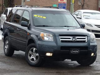 Used 2006 Honda Pilot EX-L, 4WD,*NO-ACCIDENT*,LEATHER,SUNROOF,8-PASSNGER for sale in Mississauga, ON