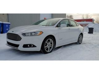 Used 2016 Ford Fusion SE for sale in St-Jérôme, QC