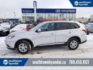 Used 2018 Mitsubishi Outlander ES/AWD/BACUP CAM/HEATED SEATS/BLUETOOTH for sale in Edmonton, AB