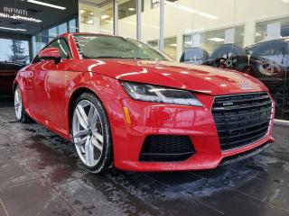 Used 2016 Audi TT 2.0T, NAVI, HEATED SEATS, REAR VIEW CAMERA for sale in Edmonton, AB