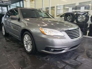 Used 2012 Chrysler 200 TOURING, REMOTE START, HEATED SEATS for sale in Edmonton, AB