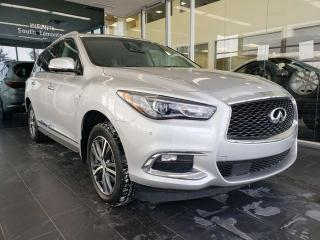 Used 2017 Infiniti QX60 CPO rates as low as 3.9%, 6 year/160,000km warranty for sale in Edmonton, AB