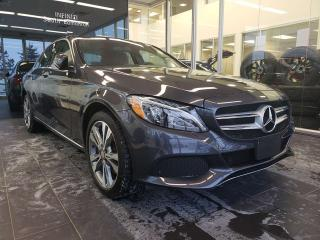 Used 2015 Mercedes-Benz C-Class HEATED SEATS, SUNROOF, KEYLESS ENTRY for sale in Edmonton, AB