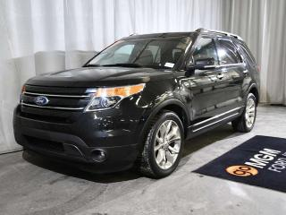 Used 2014 Ford Explorer LIMITED | LUXURY SEATING PACKAGE | 7 PASSENGER | NAVIGATION | HEATED & COOLED FRONT SEATS | HEATED STEERING WHEEL for sale in Red Deer, AB