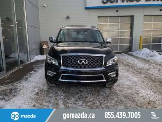 Used 2016 Infiniti QX80 Limited for sale in Edmonton, AB