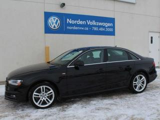 Used 2015 Audi A4 TECHNIK PLUS QUATTRO AWD - LEATHER / SUNROOF / NAVIGATION for sale in Edmonton, AB
