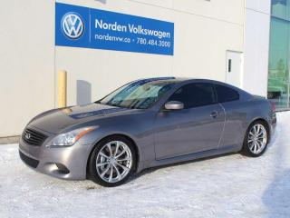 Used 2008 Infiniti G37 Coupe Sport for sale in Edmonton, AB