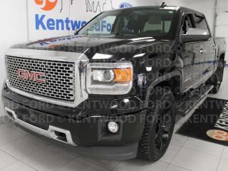 Used 2015 GMC Sierra 1500 Denali, NAV, sunroof, heated/cooled power leather seats, rear DVD entertainment system, back up cam for sale in Edmonton, AB