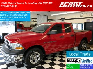 Used 2011 RAM 1500 4x4 5.7L V8 HEMI+New Tires+Tri-Fold Cover+Line-x for sale in London, ON