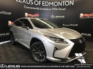 Used 2016 Lexus RX 350 F Sport SERIES 2 for sale in Edmonton, AB