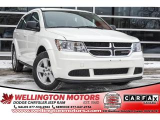 Used 2014 Dodge Journey CVP / NO Accidents / LOW KS / NEW Rotors AND Pads for sale in Guelph, ON