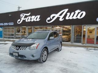 Used 2012 Nissan Rogue AWD S NAVIGATION & SUNROOF for sale in Scarborough, ON