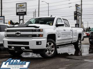 Used 2018 Chevrolet Silverado 2500 HD LTZ Diesel Long Box Loaded Fac Warranty for sale in Mississauga, ON