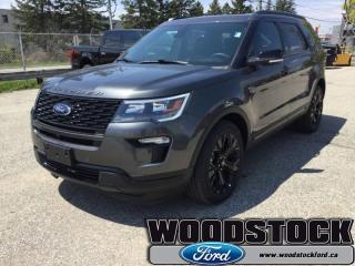 New 2019 Ford Explorer Sport  - Sunroof - Leather Seats for sale in Woodstock, ON