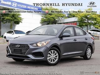 New 2019 Hyundai Accent Preferred MT  -  Power Windows for sale in Thornhill, ON