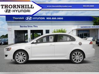 Used 2011 Mitsubishi Lancer SE for sale in Thornhill, ON