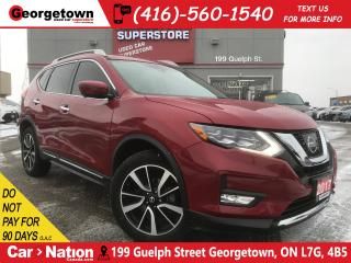 Used 2017 Nissan Rogue SL | AWD | NAVI | BU CAM | PANO ROOF | LOADED for sale in Georgetown, ON