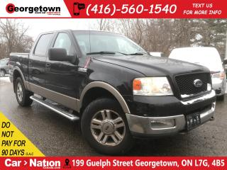 Used 2005 Ford F-150 Lariat | YOU CERTIFY YOU SAVE | AS IS SPECIAL for sale in Georgetown, ON