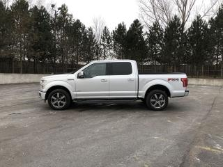 Used 2015 Ford F-150 Lariat FX4 Crew 4X4 for sale in Cayuga, ON