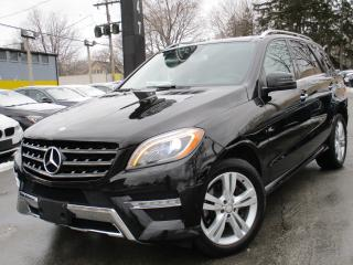 Used 2013 Mercedes-Benz ML-Class ML 350 BLUETEC 4MATIC~NAVI~PANO ROOF~BLINDSPOT !! for sale in Burlington, ON