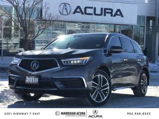Used 2018 Acura MDX Navi SH-AWD, CarPlay / Android *AUTO*, BSM for sale in Markham, ON