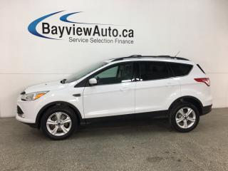 Used 2014 Ford Escape SE - SYNC! HTD LTHR! NAV! KEYPAD! PWR LIFTGATE! for sale in Belleville, ON