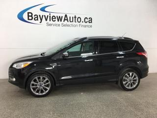 Used 2014 Ford Escape - KEYPAD! HTD SEATS! SYNC! REVERSE CAM! for sale in Belleville, ON