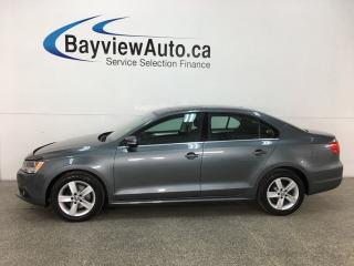 Used 2014 Volkswagen Jetta 2.0 TDI Comfortline - SUNROOF! BLUETOOTH! HTD SEATS! CRUISE! A/C! ALLOYS! for sale in Belleville, ON