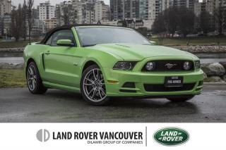 Used 2014 Ford Mustang Convertible GT *Gotta Have It Green! for sale in Vancouver, BC