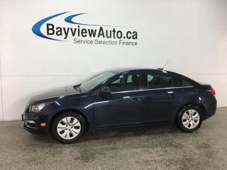 Used 2016 Chevrolet Cruze Limited 1LT - ONSTAR! BLUETOOTH! REMOTE START! REVERSE CAM! for sale in Belleville, ON