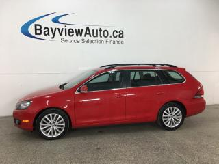 Used 2014 Volkswagen Golf 2.0 TDI Wolfsburg Edition - HTD LTHR! NAV! BLUETOOTH! PANOROOF! ALLOYS! for sale in Belleville, ON