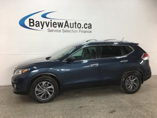 Used 2016 Nissan Rogue SL Premium - HTD LTHR! PANOROOF! PUSH START! REVERSE CAM! BSA! ALLOYS! for sale in Belleville, ON