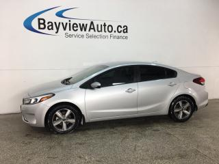 Used 2018 Kia Forte LX - ONLY 3000KMS! HTD SEATS! BLUETOOTH! WIFI! REVERSE CAM! ALLOYS! for sale in Belleville, ON