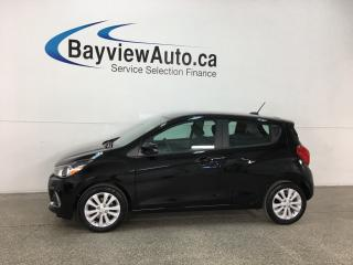 Used 2018 Chevrolet Spark 1LT CVT - ONSTAR! REVERSE CAM! BLUETOOTH! A/C! CRUISE! ALLOYS! for sale in Belleville, ON