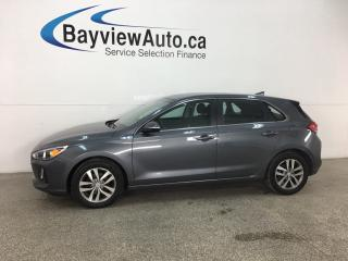 Used 2018 Hyundai Elantra GT GL - REVERSE CAM! BLUETOOTH! BSA! RCTA! HTD SEATS! ALLOYS! for sale in Belleville, ON