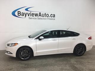 Used 2018 Ford Fusion - SYNC! ECOBOOST! HTD SEATS! START/STOP ENGINE! ALLOYS! for sale in Belleville, ON