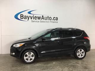 Used 2015 Ford Escape - SYNC! REVERSE CAM! HTD SEATS! ALLOYS! for sale in Belleville, ON