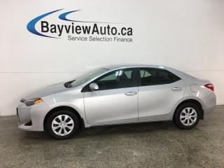 Used 2018 Toyota Corolla LE - ONLY 600KMS! REVERSE CAM! BLUETOOTH! LDA! A/C! CRUISE! for sale in Belleville, ON