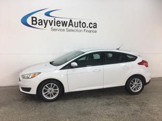 Used 2015 Ford Focus - SYNC! FLEX FUEL! CRUISE! A/C! REVERSE CAM! ALLOYS! for sale in Belleville, ON