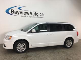 Used 2018 Dodge Grand Caravan CVP/SXT - 3 ZONE CLIMATE! PWR DOORS! STOW 'N GO! DVD! NAV! U-CONNECT! for sale in Belleville, ON