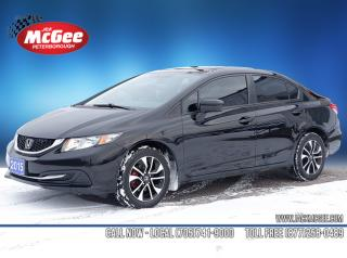 Used 2015 Honda Civic EX 1.8L, CVT, Sunroof, Keyless Entry, Rear Cam, 16
