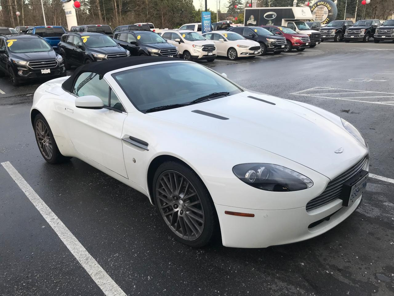 used 2009 aston martin vantage accident free, bc local for sale in