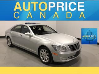 Used 2007 Mercedes-Benz S-Class MOONROOF|NAVIGATION|LEATHER for sale in Mississauga, ON